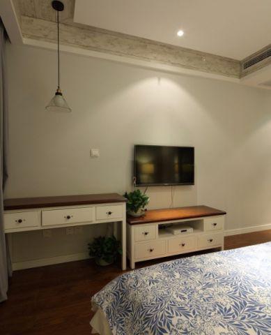 卧室电视柜混搭风格装潢效果图