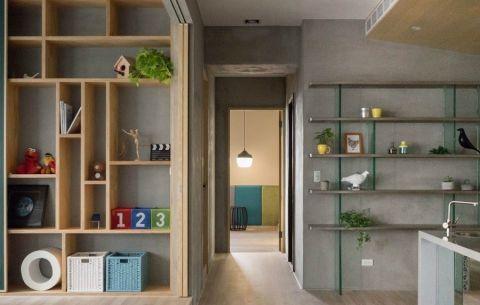 玄关走廊现代简约风格装修效果图
