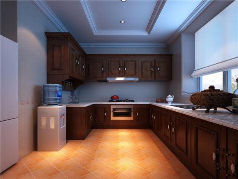 厨房窗帘欧式风格装潢效果图