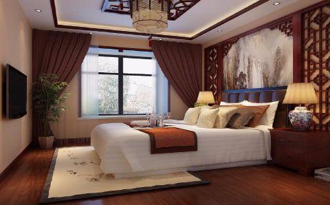 卧室中式风格装饰效果图