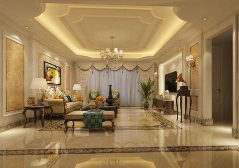 13万预算160平米四室两厅装修效果图