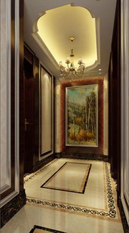 玄关吊顶简欧风格装修图片