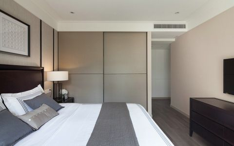 卧室背景墙简中风格装修设计图片