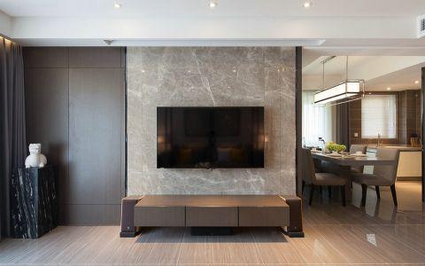 客厅背景墙简中风格装修效果图