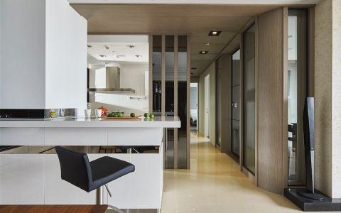 餐厅走廊新中式风格装潢效果图