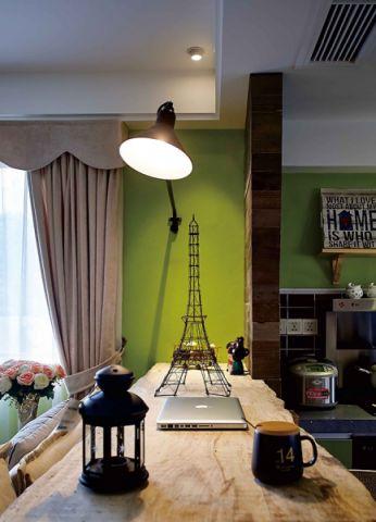 客厅吧台混搭风格装潢设计图片