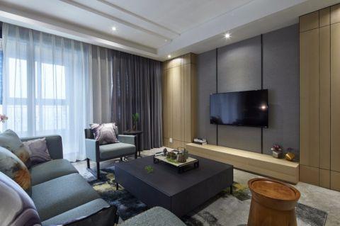 16.2万预算120平米三室两厅装修效果图