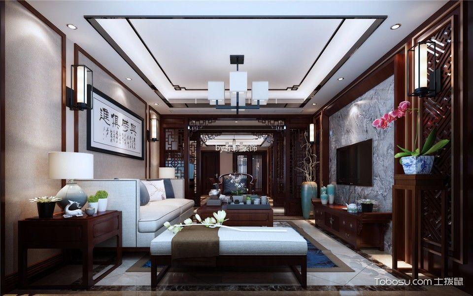 40万预算160平米四室两厅装修效果图