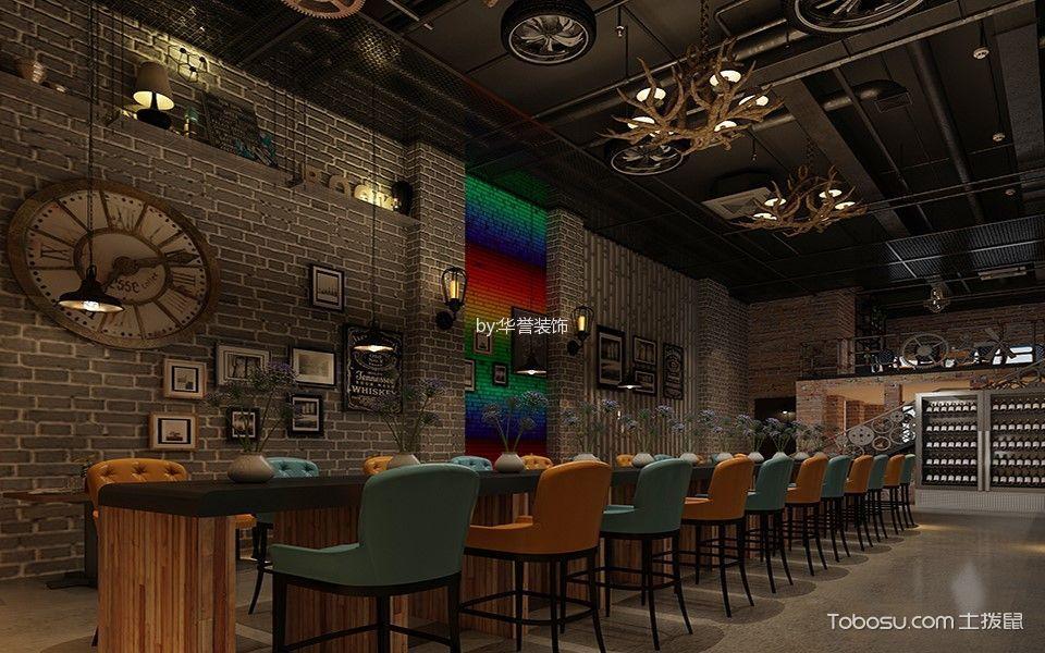中正天街点啤精酿店吧台设计效果图