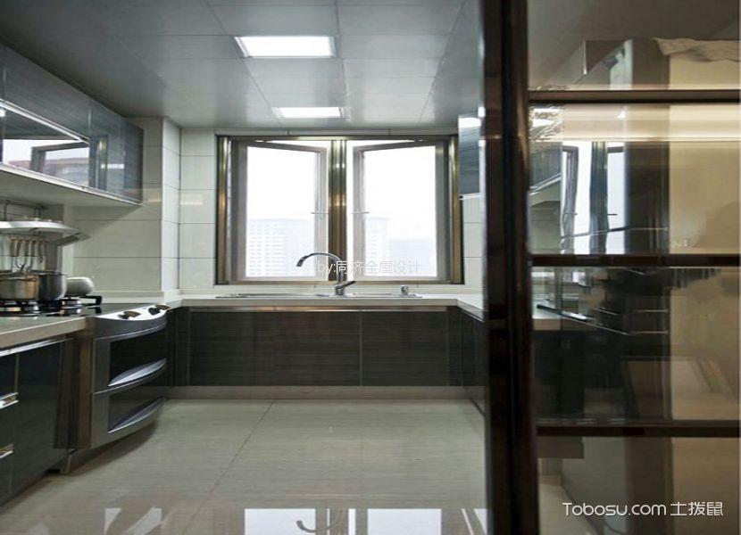 厨房白色吊顶现代风格装潢图片