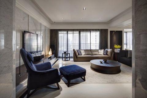 瑶海万达欧式风格一居室效果图