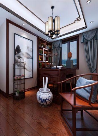 铜冠花园四室中式风格效果图