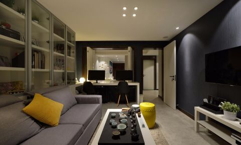 8.4万预算100平米三室两厅厅装修效果图