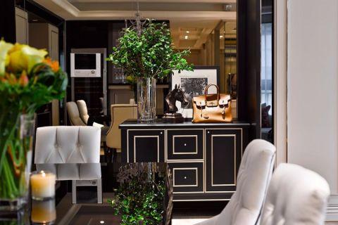 万达广场欧式风格一居室效果图