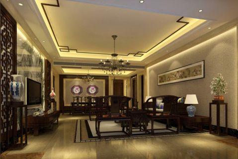 24万预算140平米三室两厅装修效果图