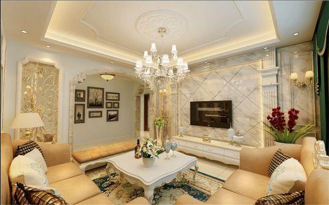 12万预算140平米四室两厅装修效果图