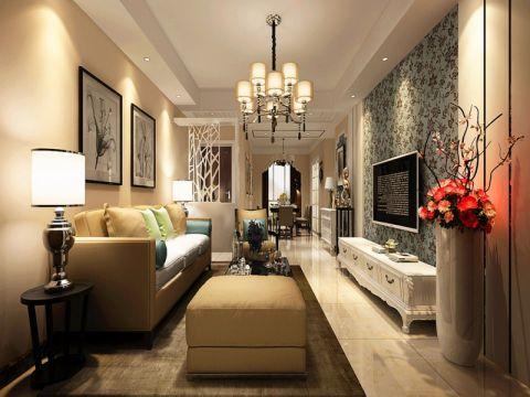 客厅沙发简欧风格装修效果图