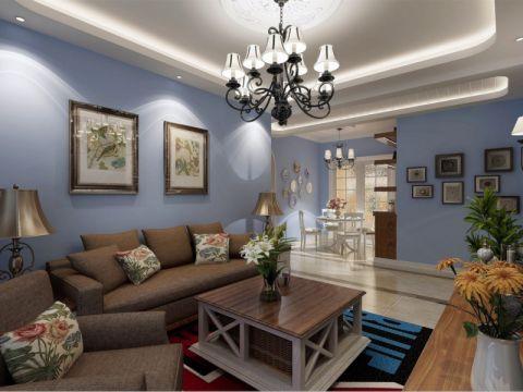 9.5万预算120平米三室两厅装修效果图