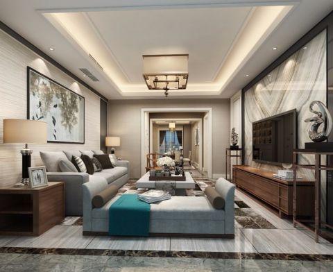 8万预算160平米四室两厅装修效果图