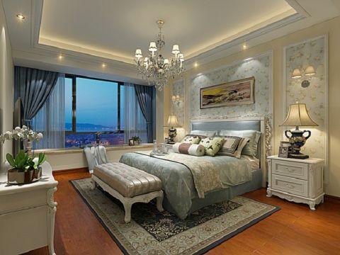卧室窗帘现代欧式风格装饰效果图