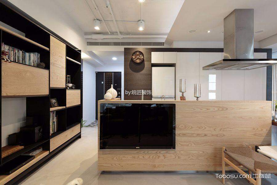 厨房白色吊顶现代风格装修图片