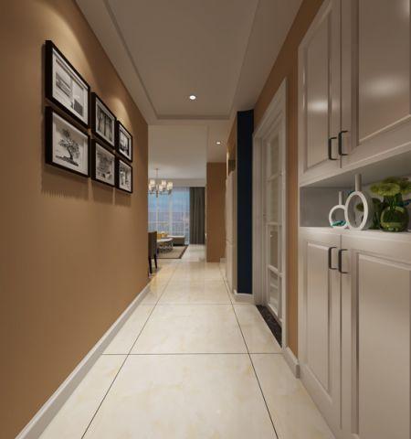 绿地滨湖印象70平小户型温馨两居室