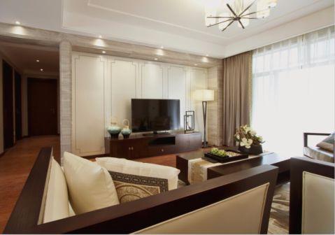 9.3万预算140平米三室两厅装修效果图