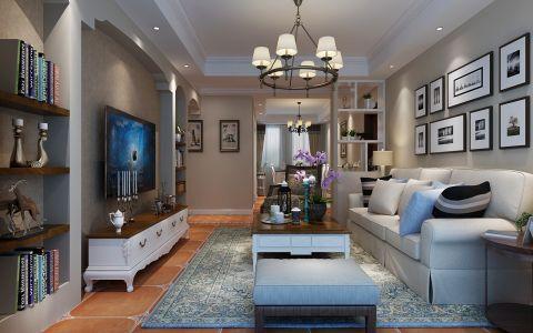 5万预算120平米三室两厅装修效果图