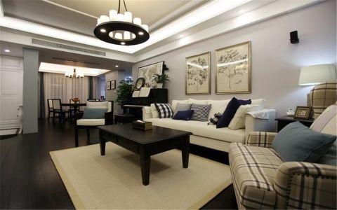 6.8万预算100平米三室两厅装修效果图