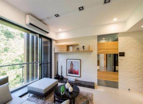 客厅背景墙简单风格效果图