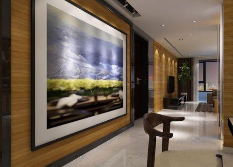 餐厅走廊现代风格装修图片