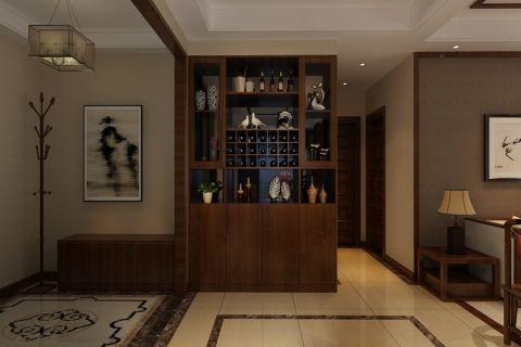 餐厅走廊现代中式风格装饰设计图片
