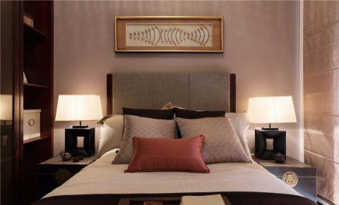 卧室背景墙东南亚风格效果图