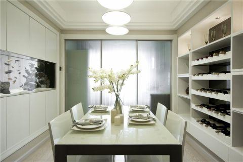 餐厅推拉门现代简约风格装潢图片