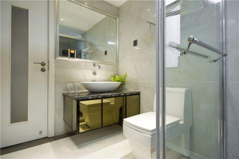 卫生间洗漱台现代简约风格装修效果图