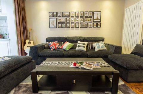 大气灰色沙发设计方案