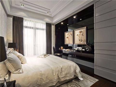 2019现代欧式卧室装修设计图片 2019现代欧式窗帘装修图