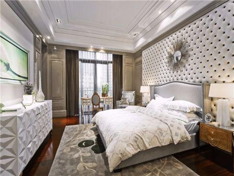 卧室吊顶现代欧式风格装饰设计图片