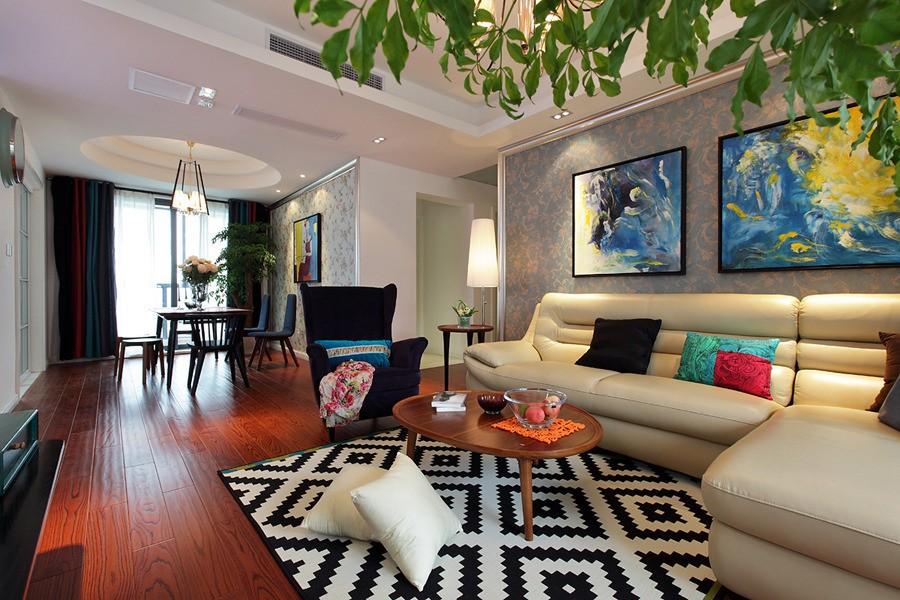 3室2卫2厅137平米现代风格