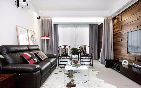 10.2万预算120平米三室两厅装修效果图
