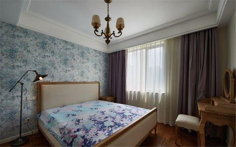 卧室梳妆台美式风格装饰效果图