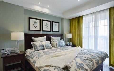 卧室窗帘现代简约风格效果图