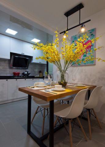 餐厅餐桌简约风格装修图片