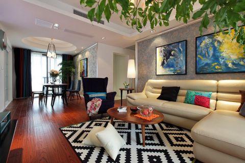 现代风格137平米三室两厅室内装修效果图