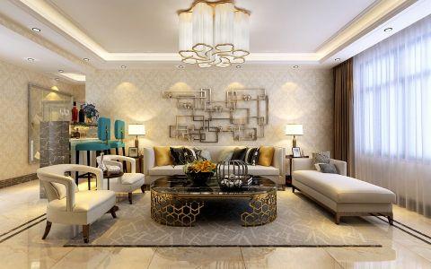 4万预算140平米三室两厅装修效果图
