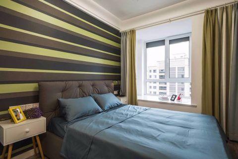 11.6万预算91平米两室两厅装修效果图