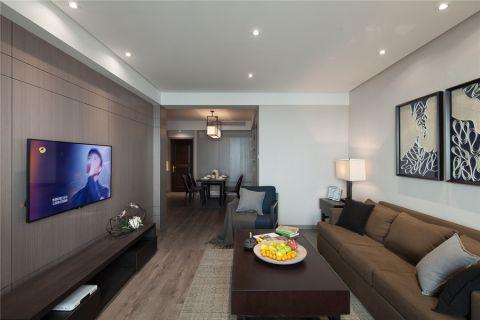 12万预算99平米两室两厅装修效果图