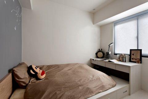卧室书桌现代风格效果图