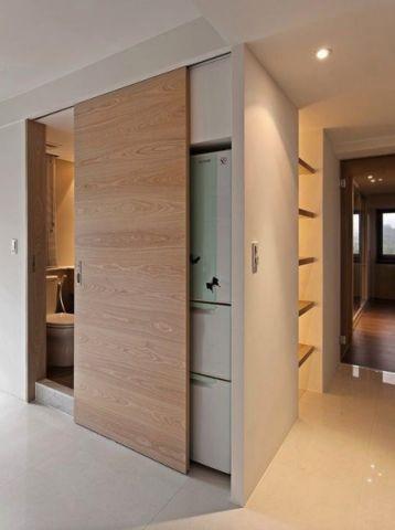 卫生间推拉门现代风格装饰图片