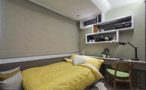 卧室书桌现代风格装潢图片